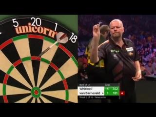 Raymond van Barneveld vs Simon Whitlock (2018 Premier League Darts / Week 3)