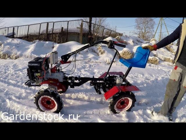 Как из мотоблока сделать полноприводный трактор! Адаптер мотоблочный приводной АПМК-1