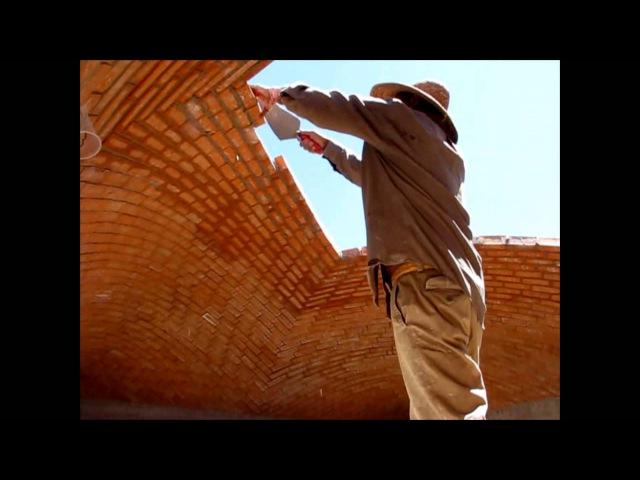 Construcción de una Bóveda Catalana Albañiles que desafían la gravedad Tienes que verlo