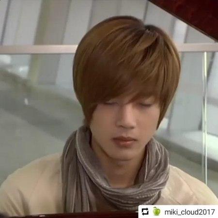 "Victoria Chaya on Instagram ""Repost @miki_cloud2017 • • • * * キムヒョンジュンkhjKimHyunJoong김현중金賢重ss501HENECIA @hyunjoong860606 花より男子boysoverf..."