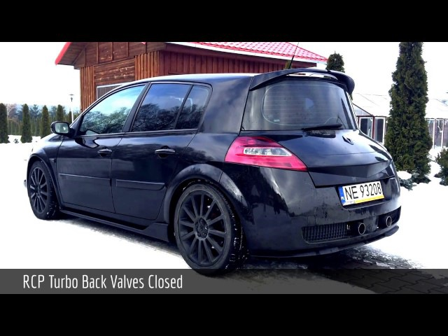 Renault Megane II RS | RCP Turbo-Back Valved Exhaust