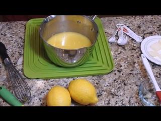 ЛИМОННАЯ ВКУСНЯТИНА к чаю. Обожают Все! Лимонный Курд. Американская Кухня.