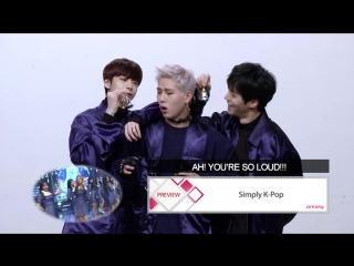 VK171206  MONSTA X preview @ Simply K-Pop