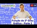 Função do Segundo Grau Função Quadrática Gráfico Parábola Aula 6 de 9