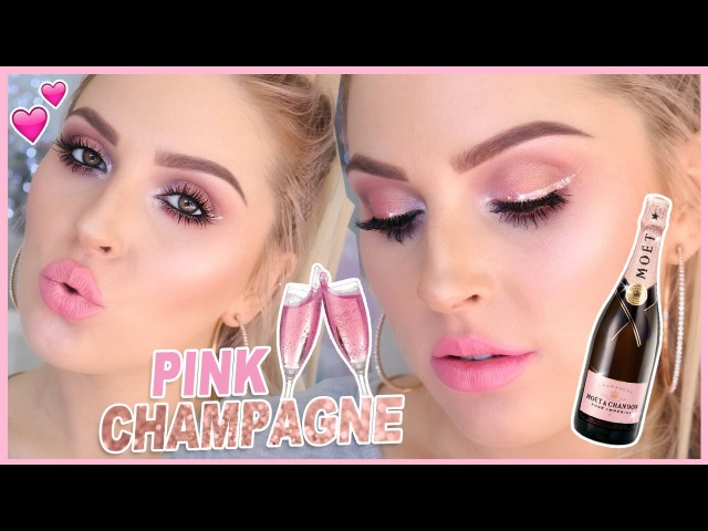 Pink Champagne CHIT CHAT GRWM! 🍾💕 Carli Bybel Palette Tutorial