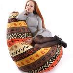 """Кресло-мешок """"Груша"""" XXXL африка"""