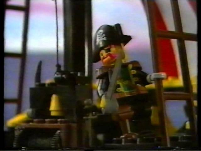 Old Lego Pirates Commercial Short Stop motion Story
