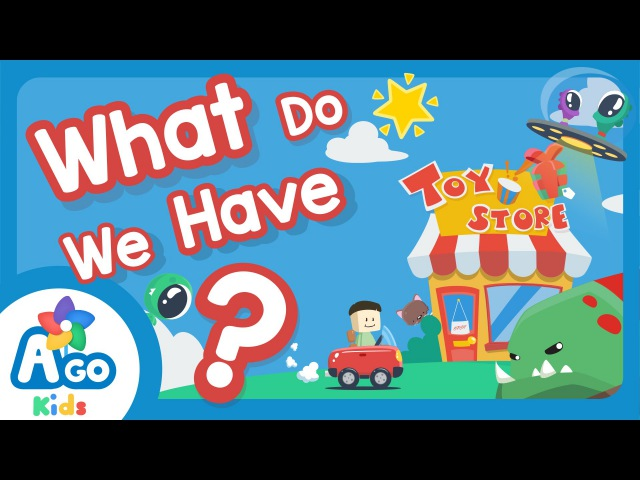 What Do We Have The Monster Song Kids Songs BINGOBONGO Learning