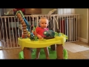 Abigail having fun in here Evenflo Exersaucer Triple Fun - Life in the Amazon.mp4