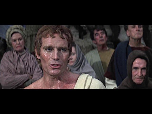 Исторический фильм драма Юлий Цезарь Julij Cezar 1970 г