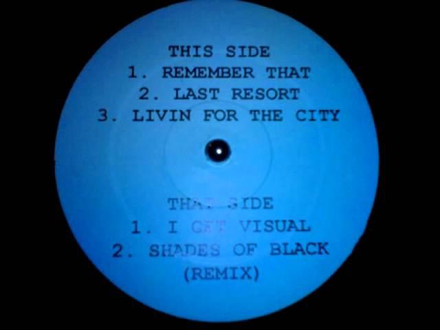 Rakim Shades Of Black Da Beatminerz Remix 1995 HQ