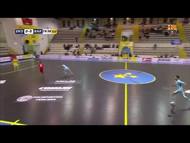 Eko Nomac 2 × 3 Barcelona UEFA CUP