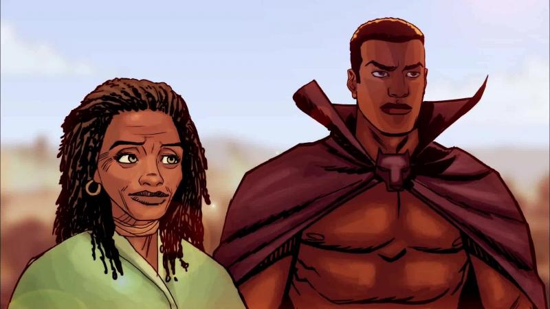 Рыцари Marvel Чёрная Пантера эпизод 3 2010 Marvel Knights Animation Black Panther