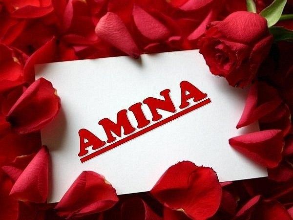 Красивые картинки с именем аминат официальной переписке