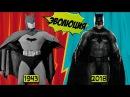 Эволюция Бэтмена на телевидении и в кино 1943 2018 DC Comics