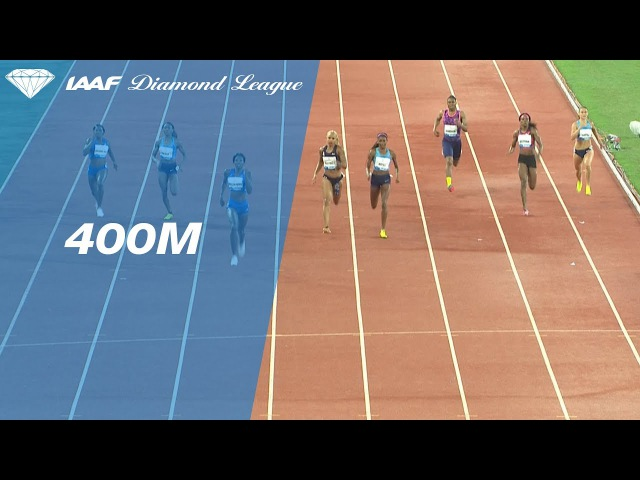 Shaunae Miller Uibo 49.80 wins the Women s 400m IAAF Diamond League Rabat 2017