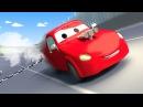 Эвакуатор Том и Гоночный автомобиль Джерри в Автомобильный Город Мультфильм д