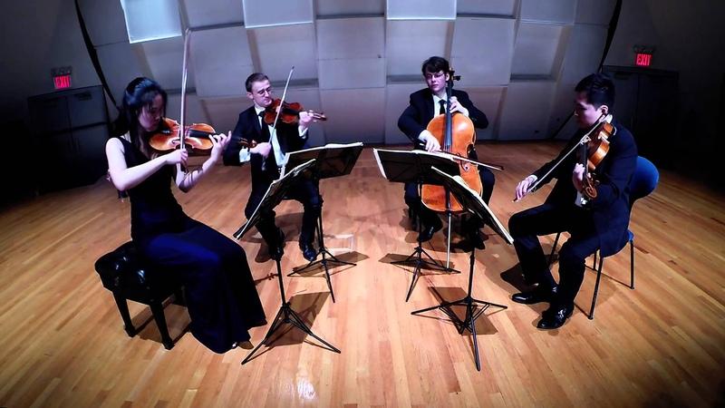 Dvořák American Quartet II Lento Amphion String Quartet