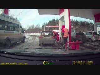 Как воруют бензин на АЗС bkmz2