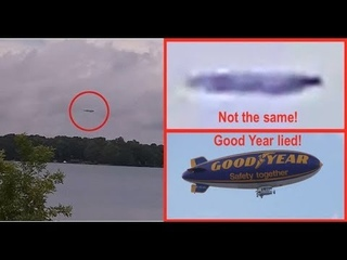 Good Year Lies About Blimp Location To Get Free Publicity And In Process Destroys UFO Evidence!
