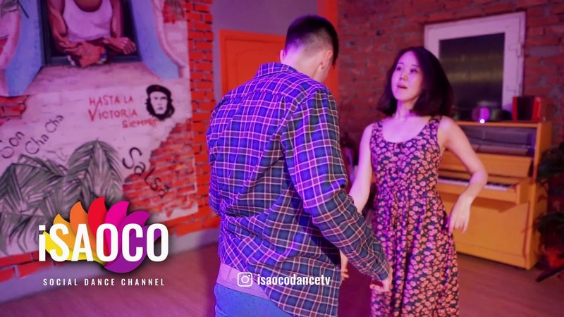 Kirill Shebeshev and Aidai Kanybekova Salsa Dancing in Respublica Vosmera Saturday 28 04 2018 SC