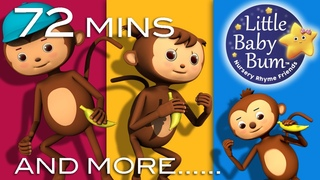 Learn with Little Baby Bum   Five Little Monkeys Jumping On The Bed   Nursery Rhymes for Babies