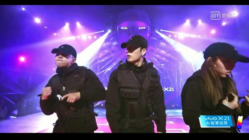 王嘉爾 跳舞很帥, 看到我都興奮了!! Jackson Wang Ka-Yee dancing so cool