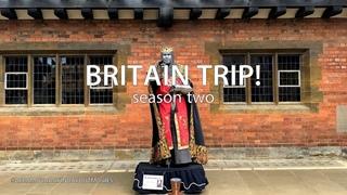 BRITAIN TRIP! -  ЮЛЯ БОМБИТ! Родина Шекспира! Итоги РОЗЫГРЫША!