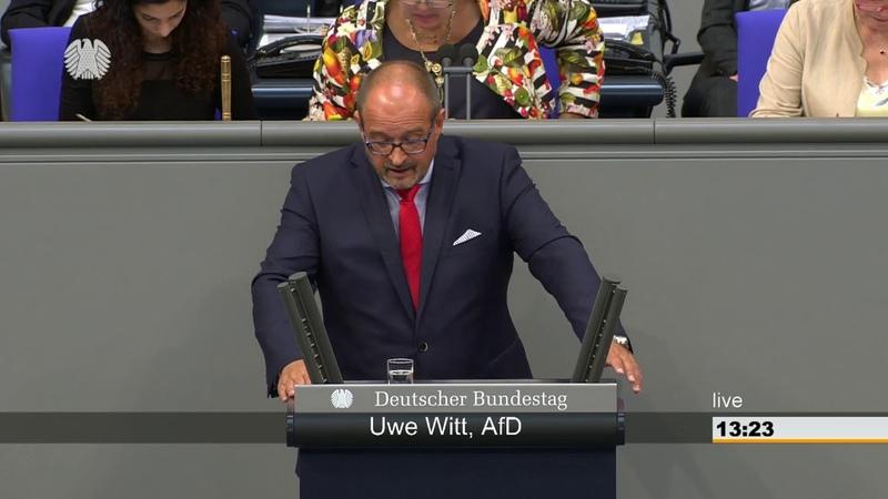 Uwe Witt AFD Danke SPD für Hatz 4