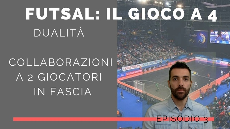 Tattica Futsal Futsal 4-0 - Il gioco a 4 - Le 8 collaborazioni a due (dualidad futsal) EP.3
