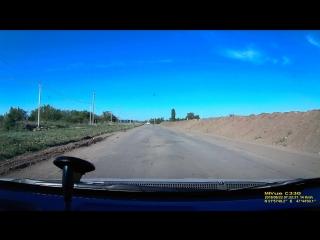Состояние дороги в районе городской свалки (саратовское шоссе)