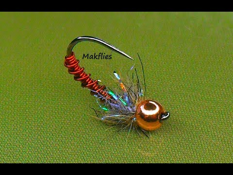 Fly Tying a Simple Brassie Nymph by Mak 🐠 🐟 🐠 🐟
