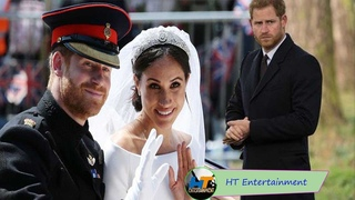 """Harry is """"lost control"""" as Meghan was a spectacular his royal wedding"""