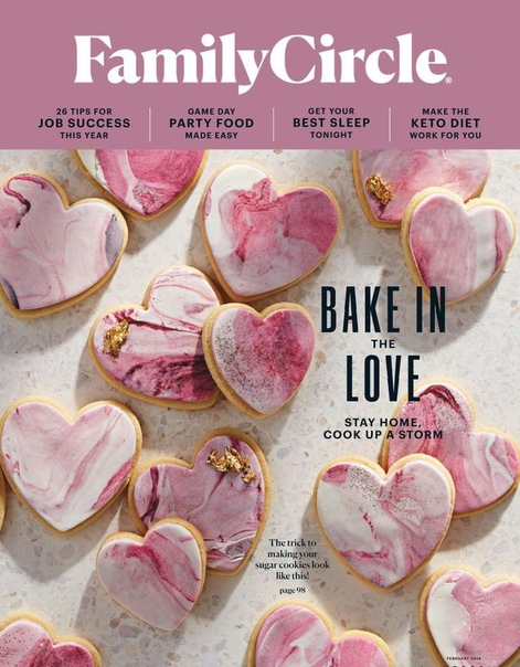 Book cover 2019-02-01 Family Circle