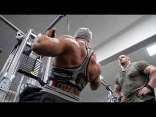 REAL and RAW Back Training with Guy Cisternino, Branch Warren and Shaun Clarida