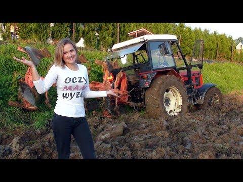 Dziewczyny na traktory - Ekstremalna orka 2017 - Agata vs Zetor 7245 i Krone 3s | GIRL ON TRACTOR |