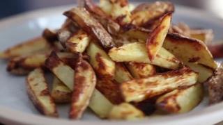 Хрустящий печёный картофель