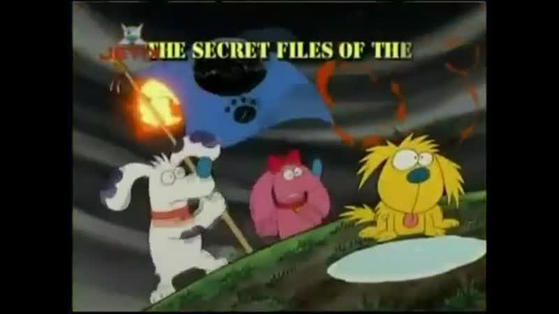 Заставка Секретные материалы псов шпионов The Secret Files of the Spy Dogs 1998 1999