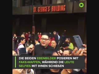Selfie gefällig? duterte und kim jong-un machen zusammen die straßen von hong kong unsicher.