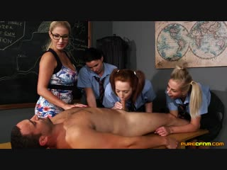 CFNM Candi Blows, Chloe Vegas, Georgie Lyall, Tasha Holz 3 [Porno, Sex, Big tits, Big ass, Blonde, Oral, Masturbation, Lesbians