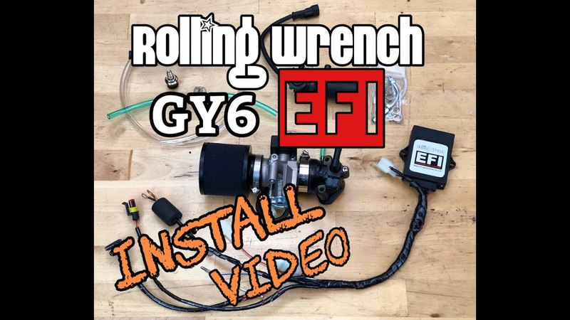 BETA TESTERS ONLY for now Rolling Wrench GY6 EFI kit install video