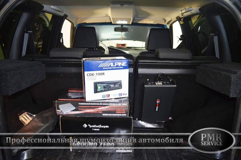 Шумоизоляция Chevrolet Niva, изображение №15