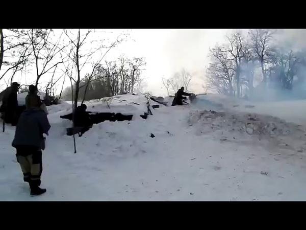 Русские наёмники с новой базукой под Дебальцево 2015 год