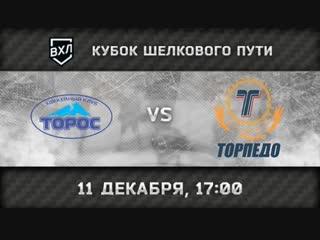 Торос Нефтекамск - Торпедо Усть-Каменогорск, 17:00