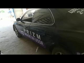 119-й авто криптовалюты Prizm в Новосибирске, Черная Toyota Vista, т504нн, 54 Rus