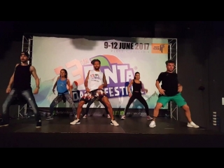 Chiquito and Domimican Power - Reggaeton. Fanta Dance Festival 2017