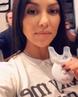 "Kourtney Kardashian on Instagram whitening my teeth bts @hismileteeth HiSmile TeethWhitening ad"""