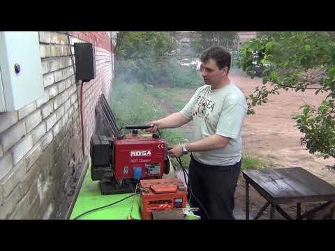 2 тактный сварочный генератор mosa