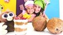 Sevcan Mini Mutfak'ta Chialı Mangolu hindistan sütlü tatlısı yapıyor