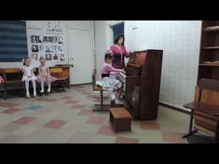 Школа искусств №1 г. Горловка Класс Фортепиано, отчетный концерт, экзамен.